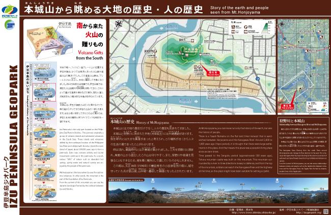 柿田川と狩野川の合流点